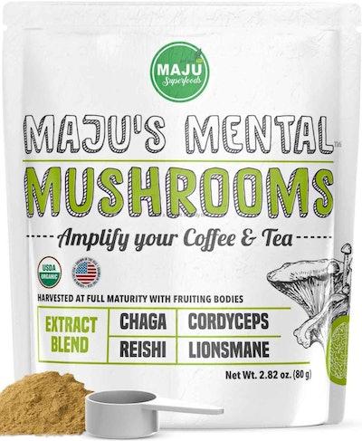 MAJU's Mental Mushroom Powder Extract (80 Grams)