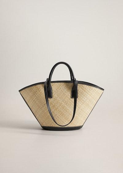 Coconut Palm Leaf Basket
