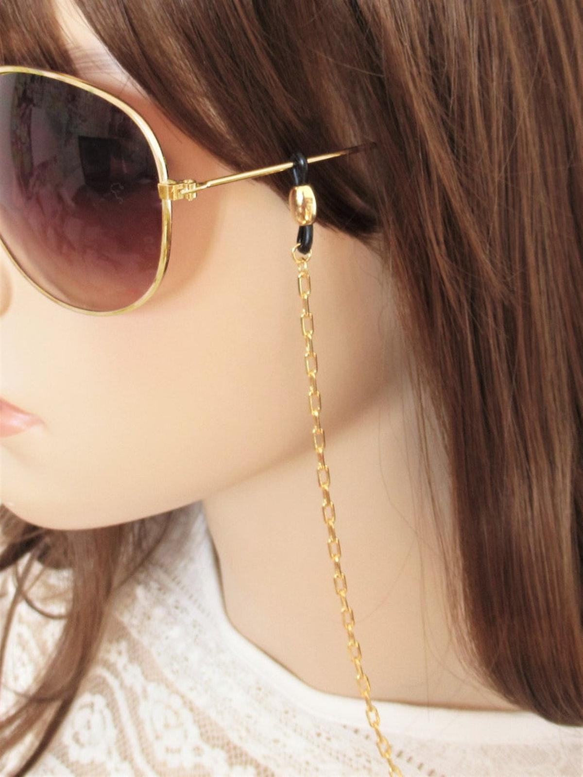 JulenJewel Glasses Chain Gold