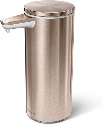 simplehuman Stainless Steel Soap Sensor Pump