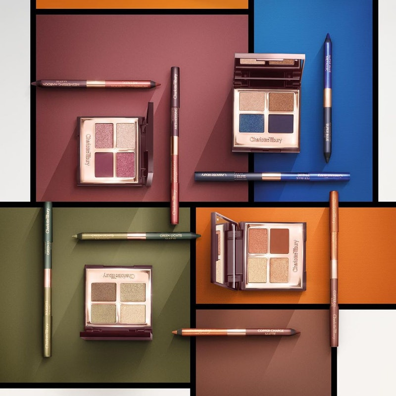 Charlotte Tilbury's Eye Colour Magic collection features four new colorful palettes