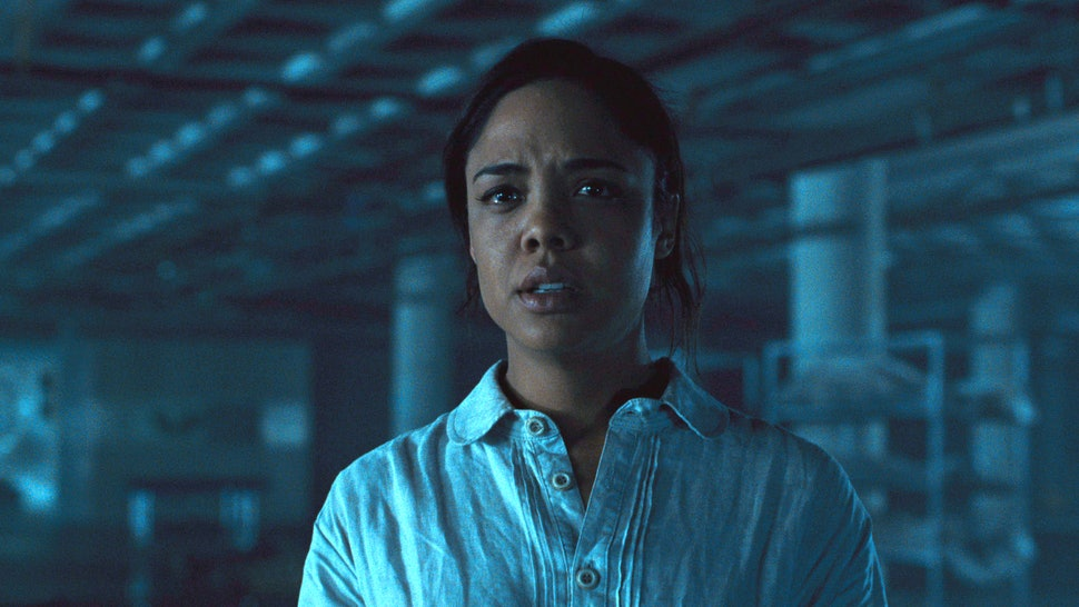 Tessa Thompson as Charlotte Hale in Westworld Season 2