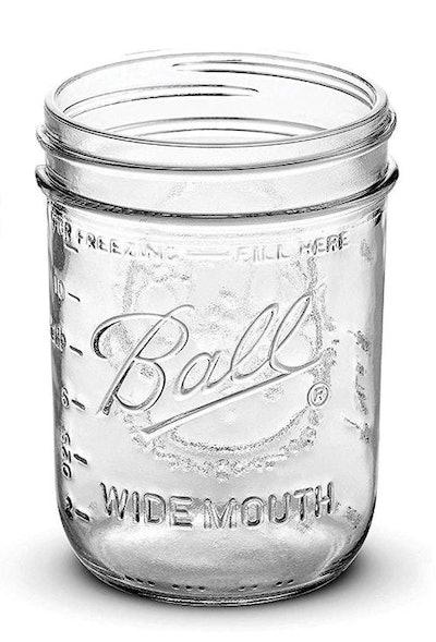 Ball Wide Mouth Mason Jars (6-Pack)