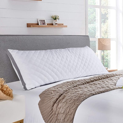 MoMA Adjustable Quilted Body Pillow