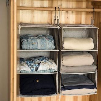 StorageWorks Hanging Closet Organizers (2-Pieces)