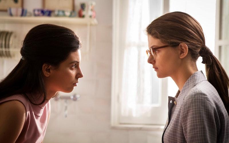 Gaia Girace and Margherita Mazzucco as Lila and Elena in 'My Brilliant Friend' Season 2