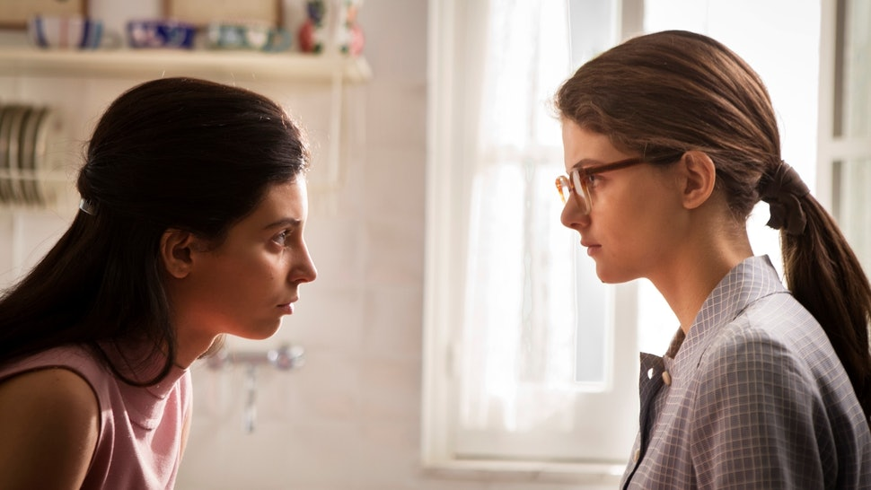Gaia Girace and Margherita Mazzucco as Lila and Elena in 'My Brilliant Friend' Season 2