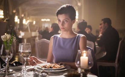 Gaia Girace as Lila in 'My Brilliant Friend' Season 2