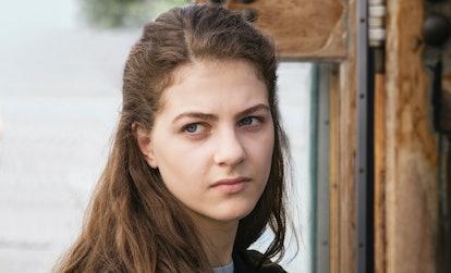 Margherita Mazzucco As Elena Greco in 'My Brilliant Friend' Season 2