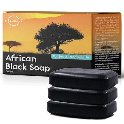 O Naturals African Black Soap (3-Pack)