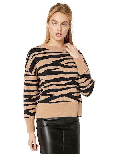 The Drop Women's Camila Soft Slouchy Crew Neck Sweater