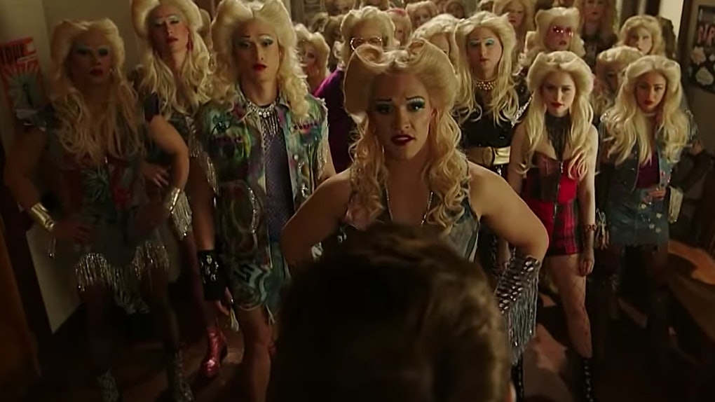 """The cast of """"Riverdale"""" dons blonde wigs in celebration of the musical episode showcasing """"Hedwig"""""""