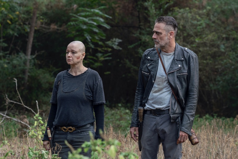 Negan and Alpha are getting too close on The Walking Dead.