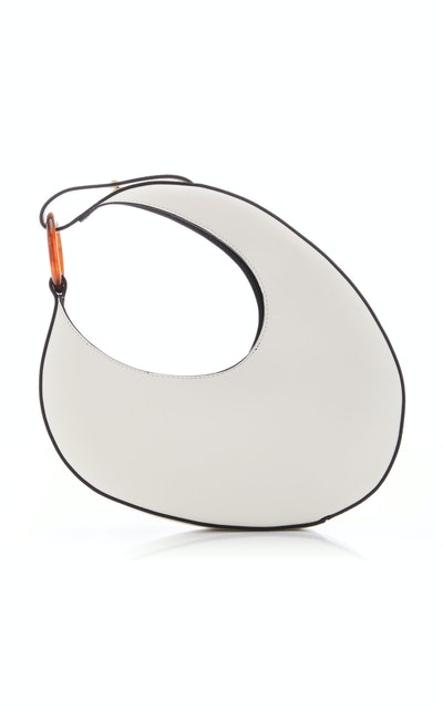 Micro Ostra Leather Shoulder Bag