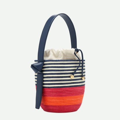 Lunch pail bag - Navy/Sweet Briar/Sunset