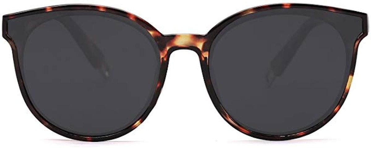 SOJOS Round Vintage Sunglasses