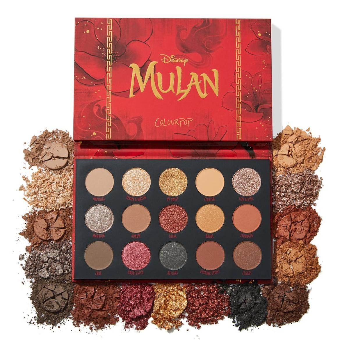 """Mulan"" x ColourPop Mulan Palette"