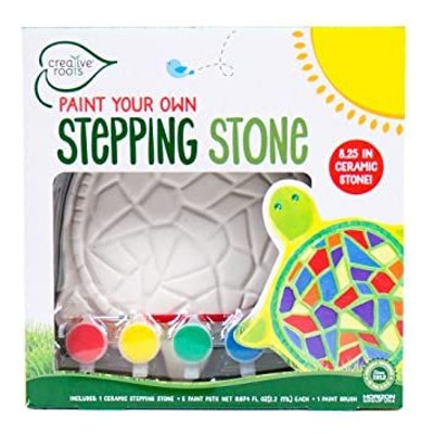 CREATIVE ROOTS Paint Your Own Turtle Stepping Stone