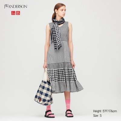Uniqlo x JW Anderson Tiered Sleeveless Dress