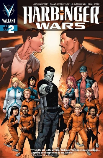 Harbinger Wars Valiant