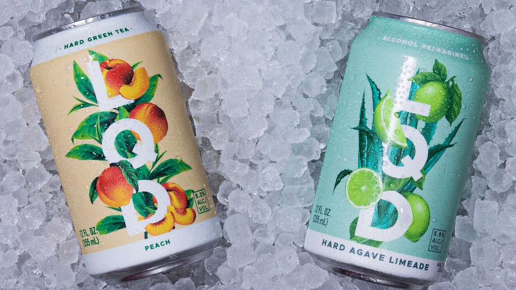 These LQD craft canned cocktails include flavors like hard green tea.