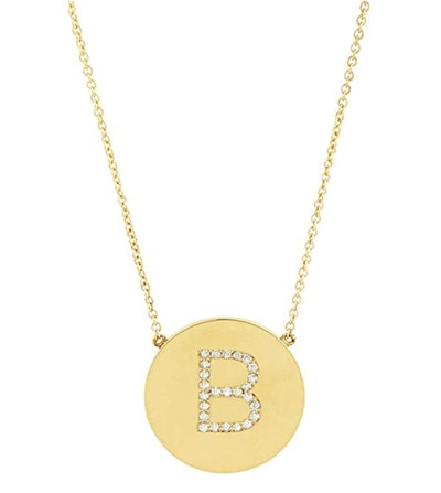 Sterling Forever Gold Plated Initial Necklace