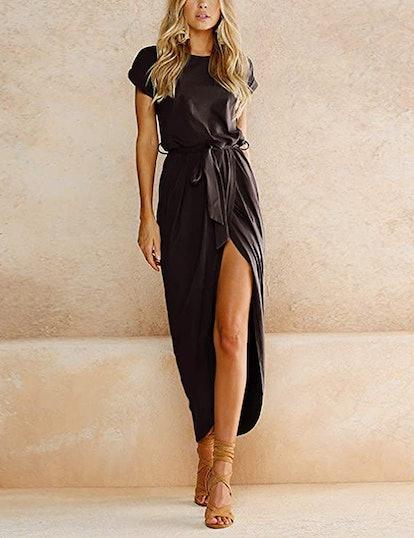 Yidarton Women's Casual Long Maxi Dress