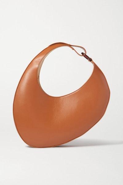 Ostra Leather Shoulder Bag