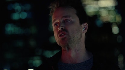 Caleb talking to Kid Cudi's 'Westworld' character, Francis, in the Season 3 premiere.