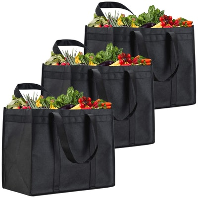NZ Home XL Reusable Grocery Bags (3-Pack)