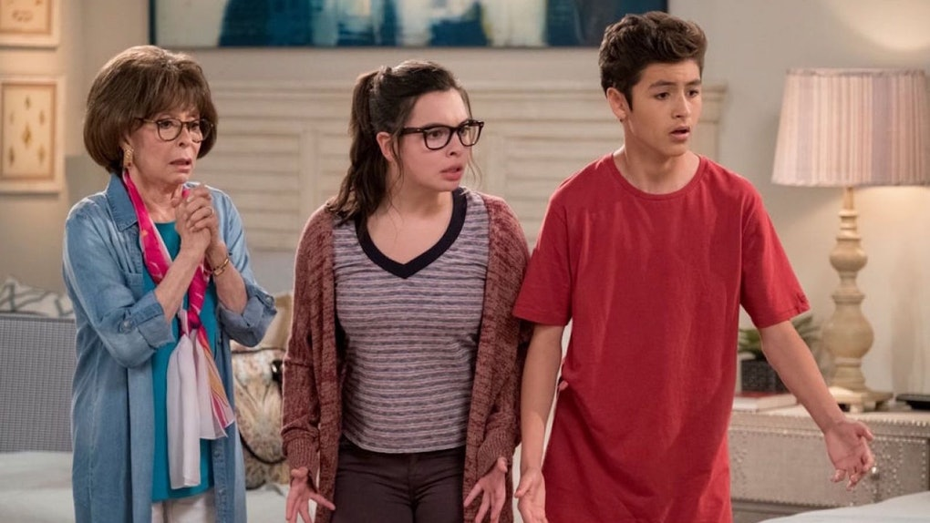 A video of the 'One Day at a Time' Season 4 premiere includes a dig at Netflix.