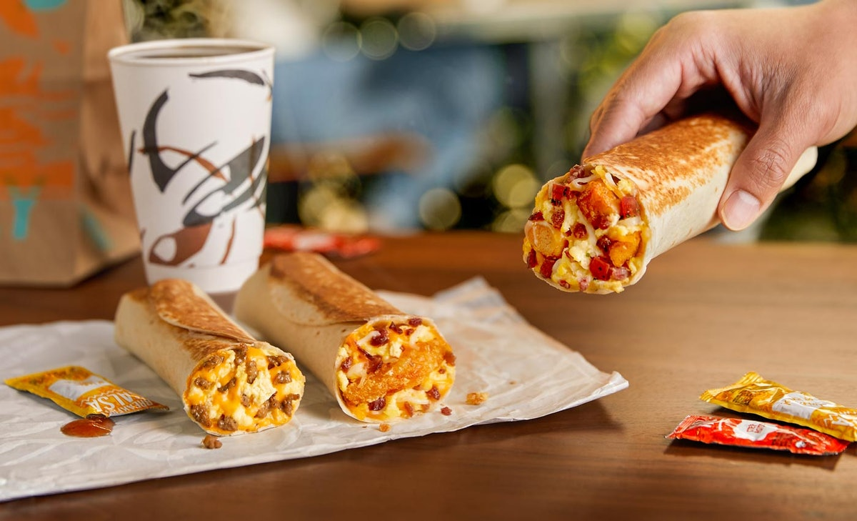 Taco Bell's new Toasted Breakfast Burritos are the perfect start to your morning.
