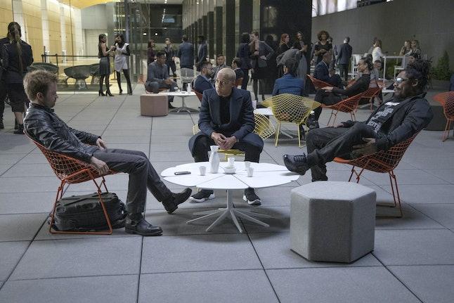 Caleb uses the Rico app on 'Westworld' Season 3… or is it using him?