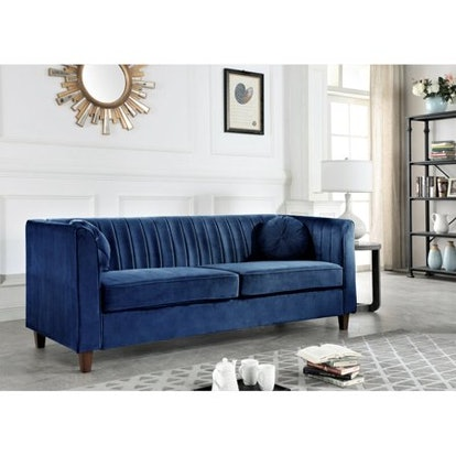 Blue Chesterfield Sofa