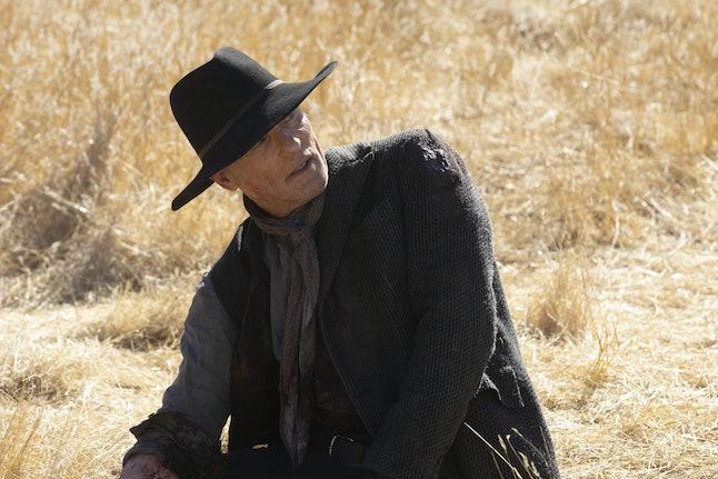 William/The Man In Black on Westworld.
