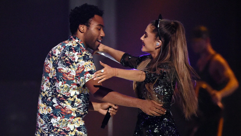 Donald Glover and Ariana Grande surprise-released a new song together.