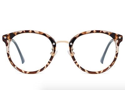 SOJOS Retro Round Blue Light Blocking Glasses