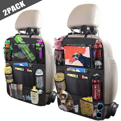 ULEEKA Car Backseat Organizers (2-Pack)
