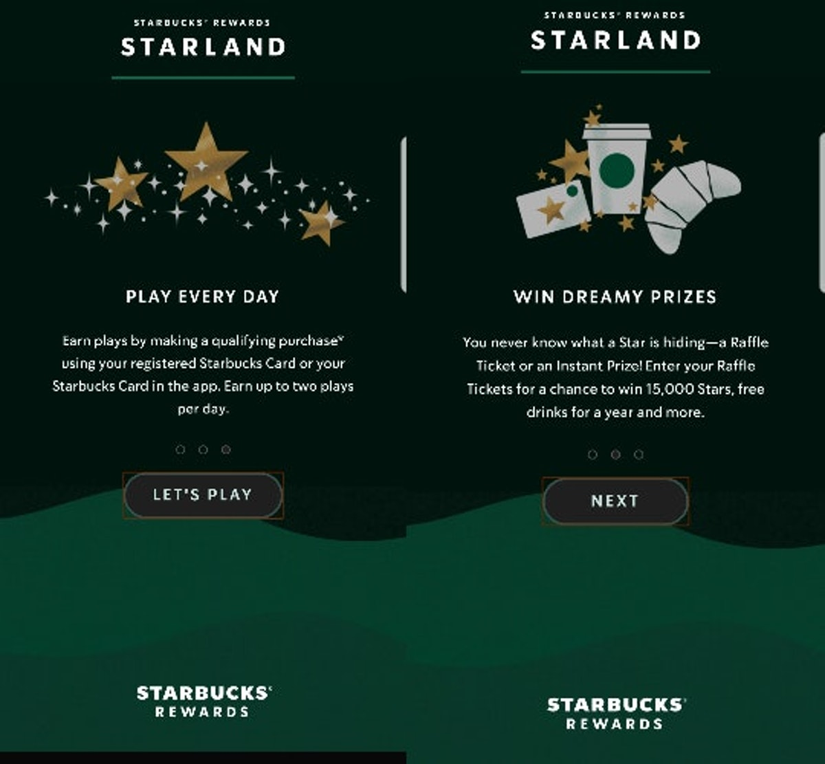 The Starbucks Starland Game Prizes could win you a year's worth of free breakfast and coffee.
