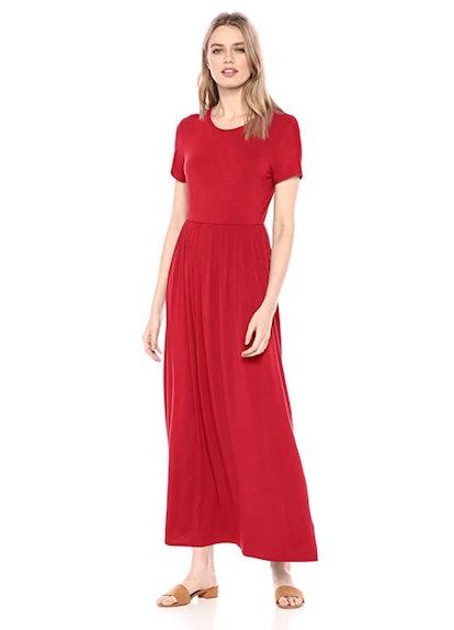 Amazon Essentials Short-Sleeve Maxi Dress