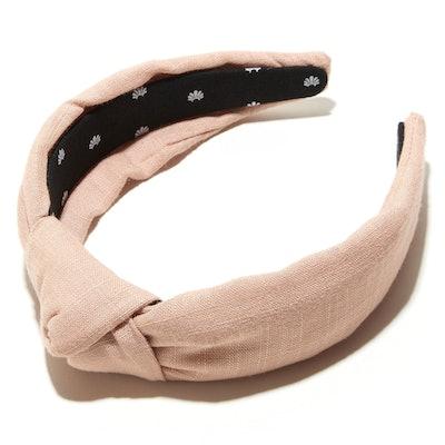 Nectar Linen Knotted Headband