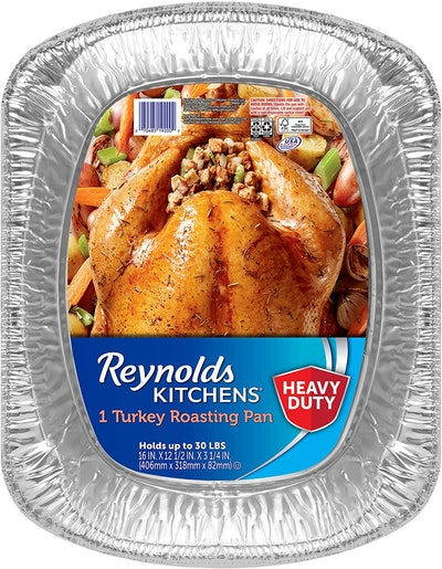 Reynolds Disposable Roasting Pans (16 Inches, Pack Of 3)
