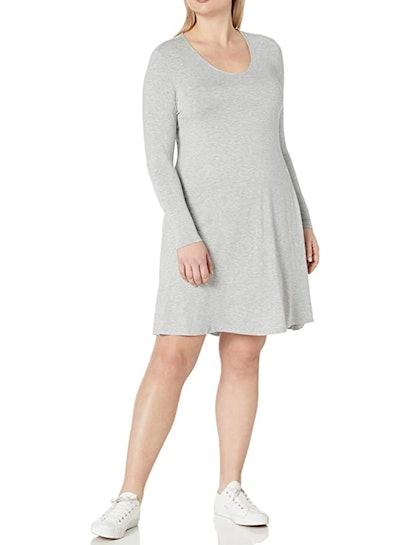 Daily Ritual Plus Size Jersey V-Neck Dress