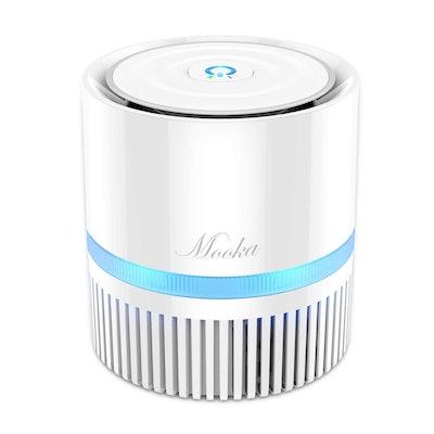 MOOKA Air Purifier 3-in-1 True HEPA Filter Air Cleaner
