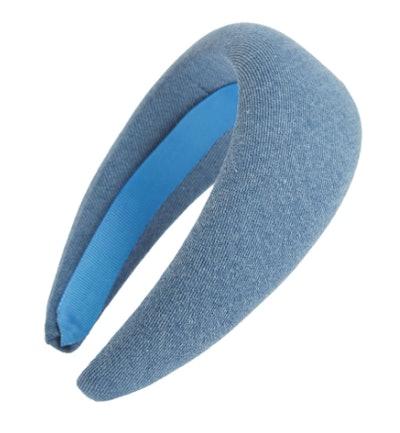 Washed Denim Headband
