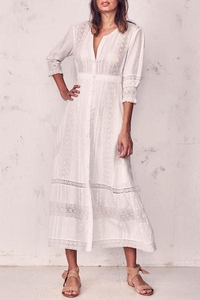 Desert Victorian Maxi Dress
