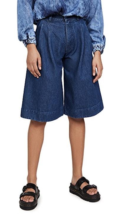 Midi Bermuda Shorts
