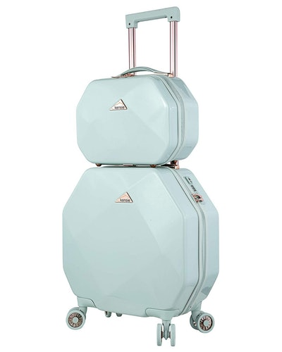 Kensie Gemstone Two-Piece Luggage Set (13- and 22-Inch)