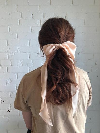 Posy Silk Hair Bow