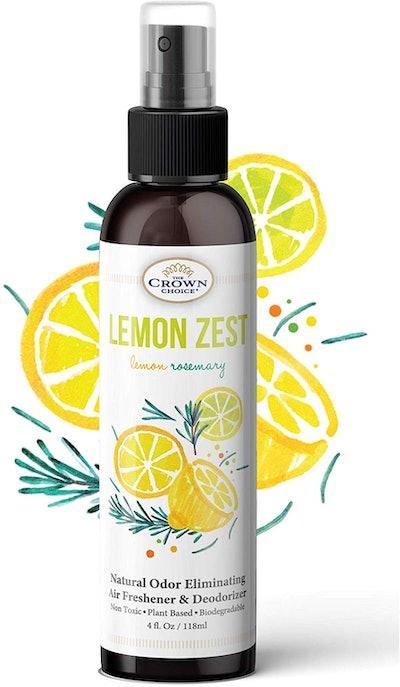 The Crown Choice Lemon Zest Linen and Room Spray